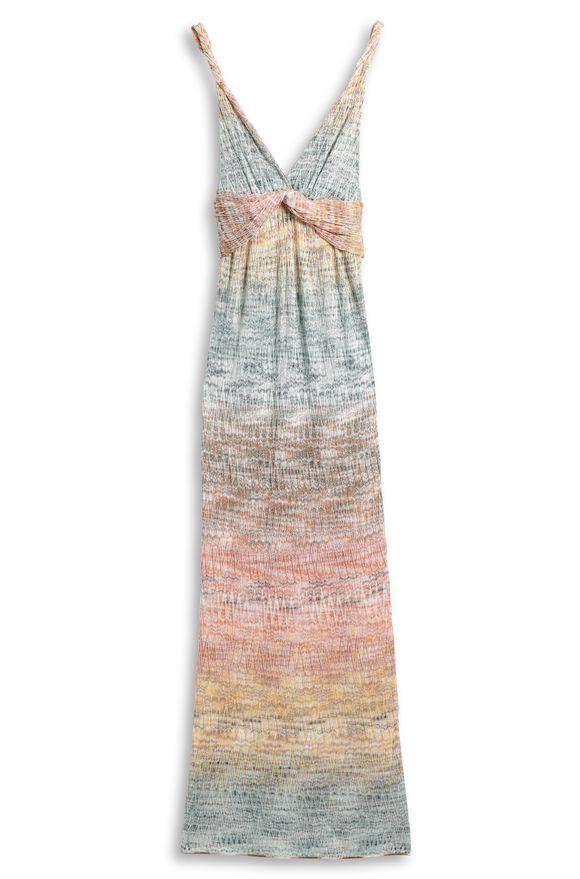 MISSONI Long dress Woman, Side view