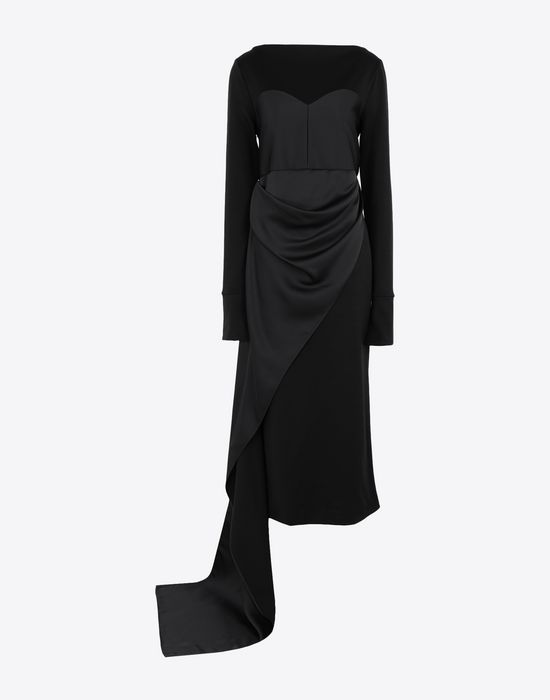 MAISON MARGIELA Dress with bodice details Long dress [*** pickupInStoreShipping_info ***] f