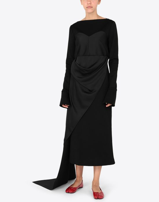 MAISON MARGIELA Dress with bodice details Long dress [*** pickupInStoreShipping_info ***] r