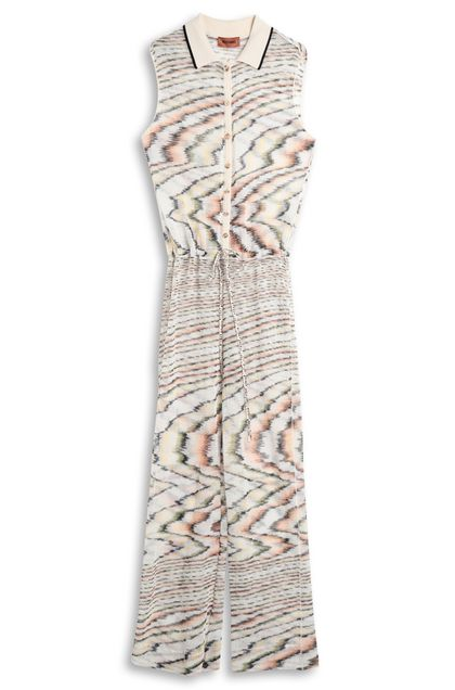 MISSONI Jumpsuit Beige Woman - Front