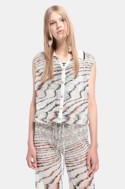 MISSONI Jumpsuit Beige Woman - Back