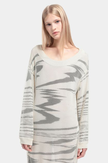MISSONI Minidress Beige Woman - Back