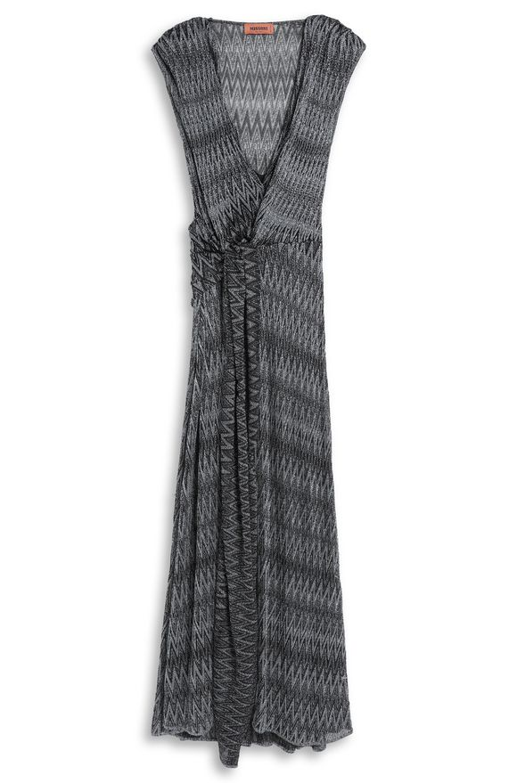 MISSONI Langes Kleid Damen, Detail