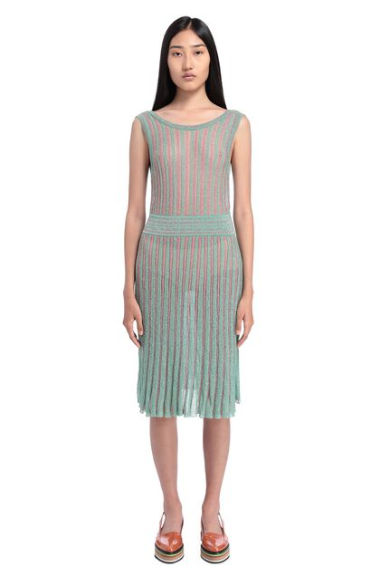 MISSONI Minidress Light green Woman - Front