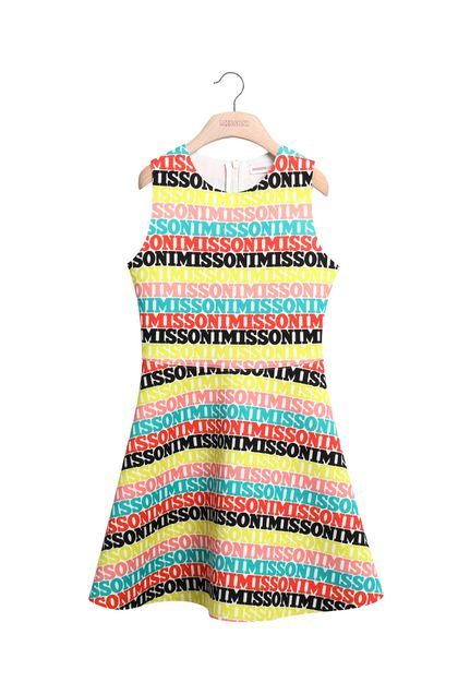 MISSONI KIDS Abito Giallo Donna - Retro