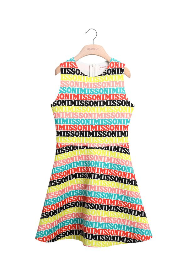 MISSONI Dress Yellow Woman
