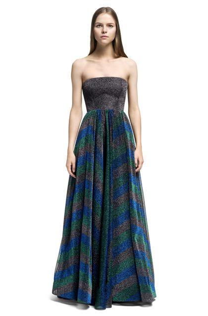 MISSONI Long dress Lead Woman - Back