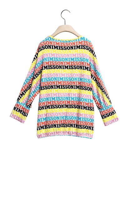 MISSONI KIDS Minidress Yellow Woman - Front