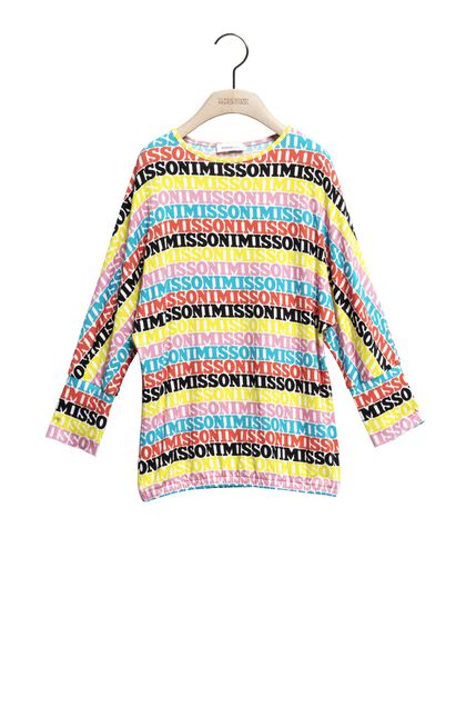 MISSONI KIDS Minidress Yellow Woman - Back