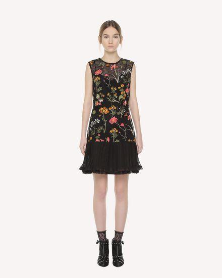 REDValentino Dress Woman QR3VA09Q3UC 0NO f