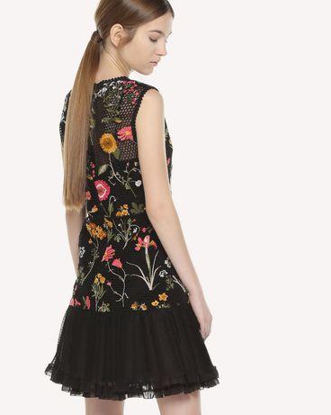 REDValentino QR3VA09Q3UC 0NO Dress Woman d