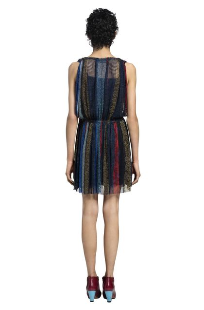 MISSONI Dress Dark blue Woman - Front