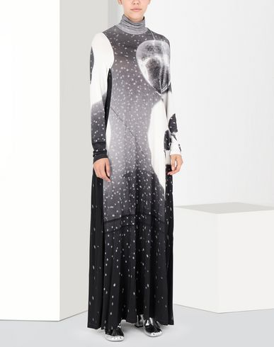 MM6 MAISON MARGIELA Long dress Woman Reflex print long dress f