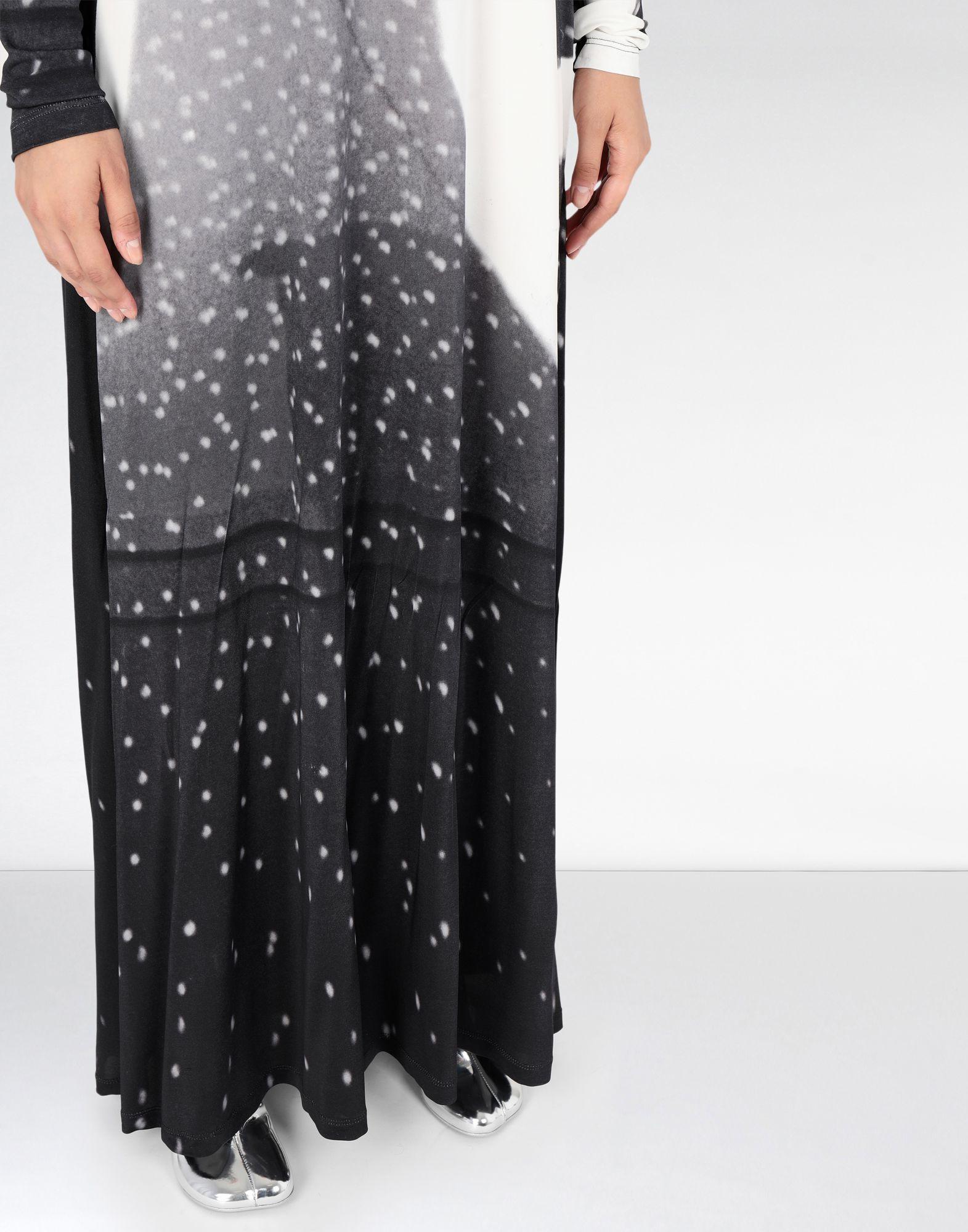 MM6 MAISON MARGIELA Reflex print long dress Long dress Woman a