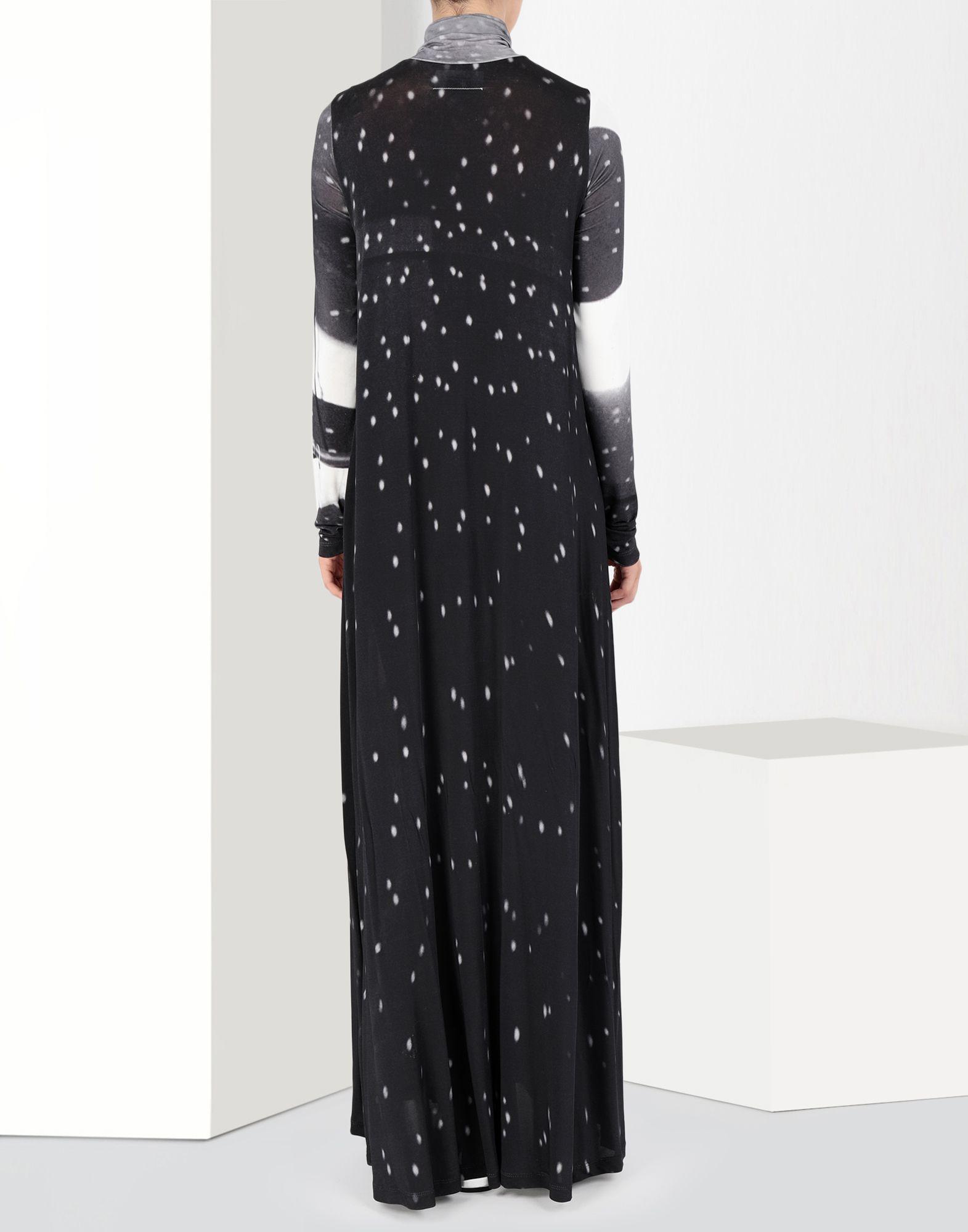 MM6 MAISON MARGIELA Reflex print long dress Long dress Woman d