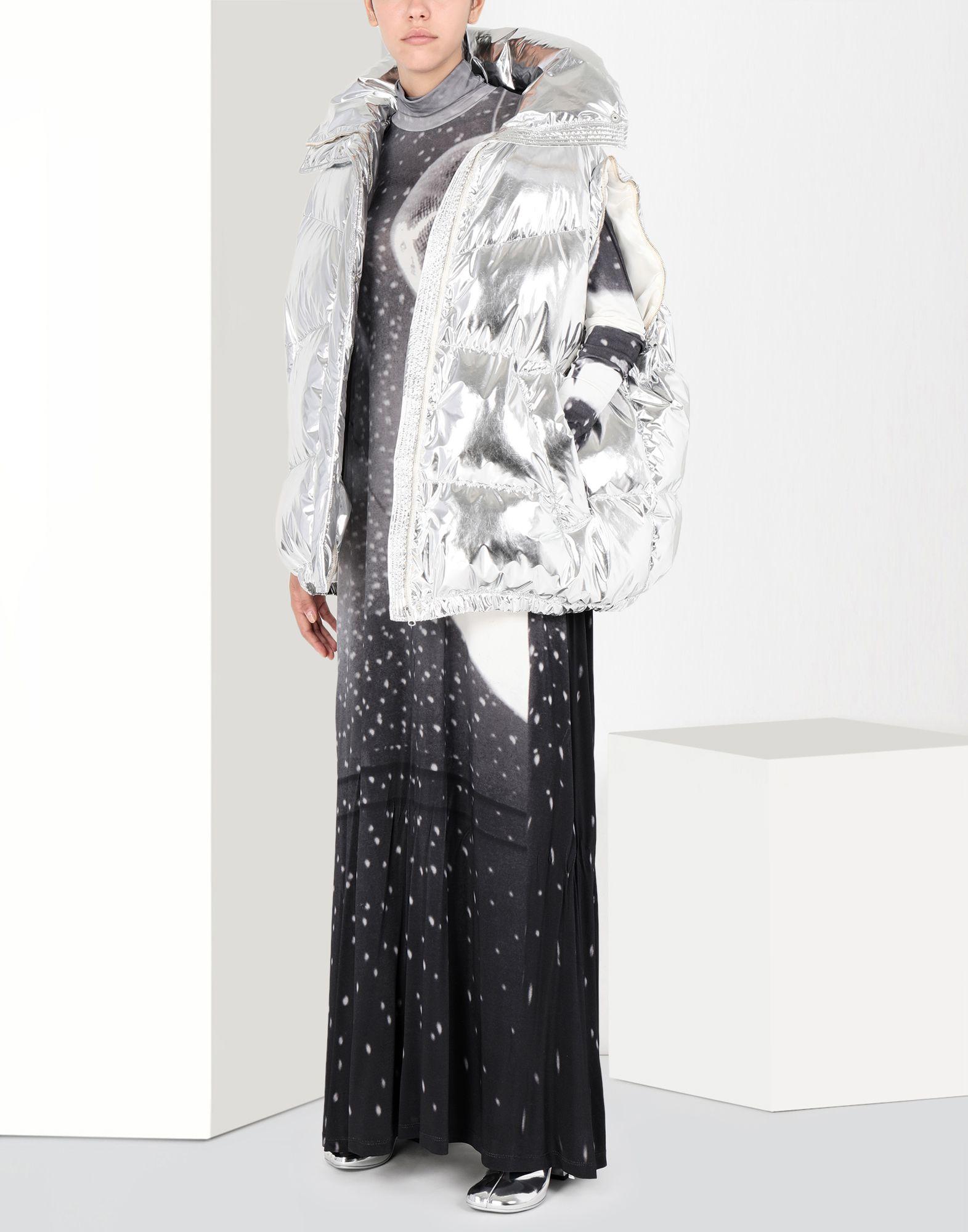 MM6 MAISON MARGIELA Reflex print long dress Long dress Woman r