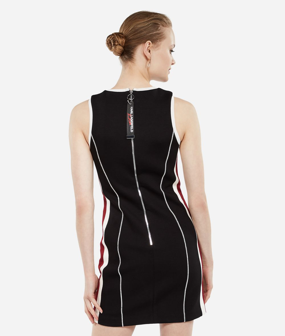 KARL LAGERFELD Karl X Kaia Jersey Dress Dress Woman d