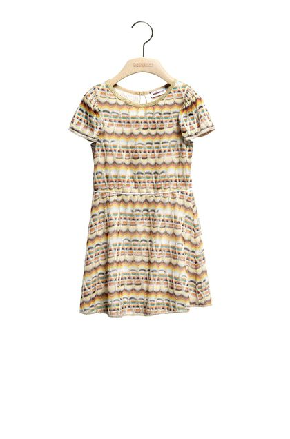 MISSONI KIDS Dress Yellow Woman - Back