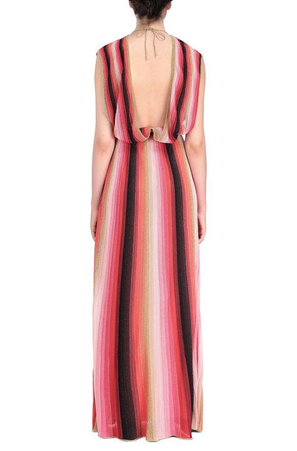 M MISSONI Langes Kleid Damen, Seitenansicht