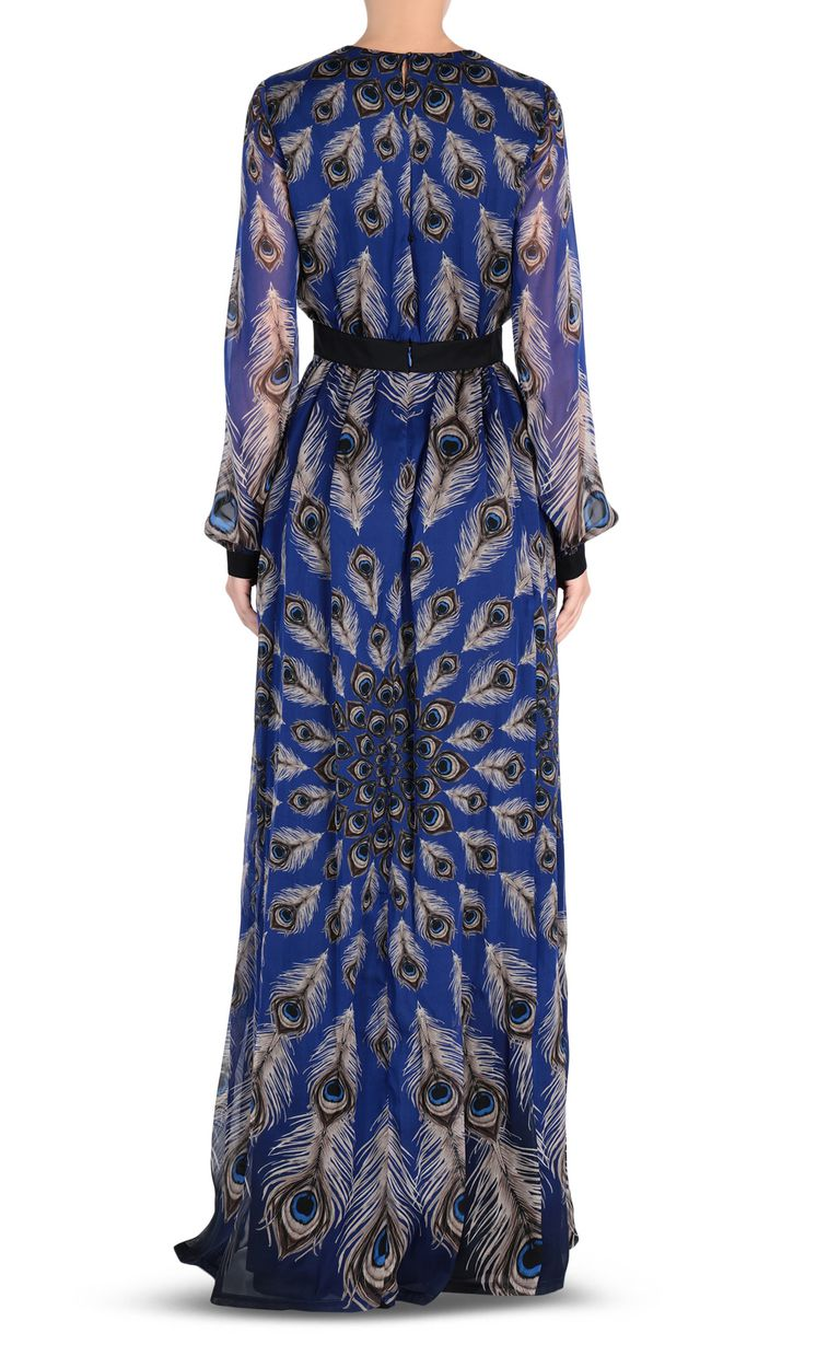 JUST CAVALLI Eye Of The Peacock maxi dress Long dress Woman d