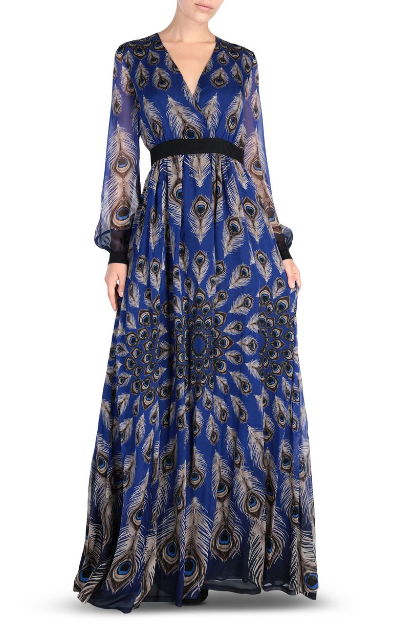 JUST CAVALLI Eye Of The Peacock maxi dress Long dress Woman f