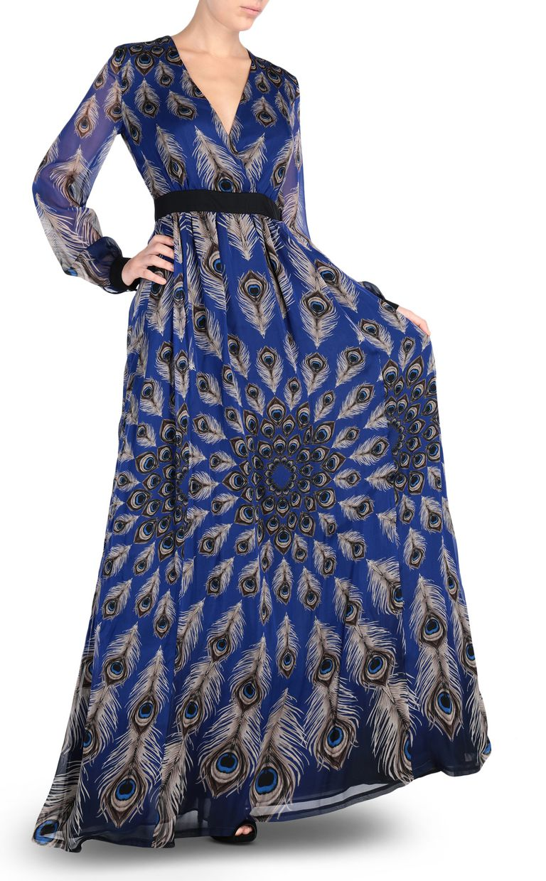 JUST CAVALLI Eye Of The Peacock maxi dress Long dress Woman r