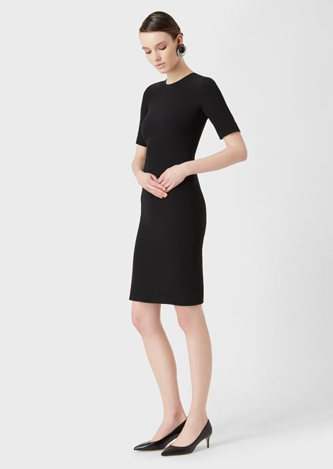 Mulberry silk sheath dress