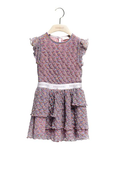 MISSONI KIDS Dress Light purple Woman - Back