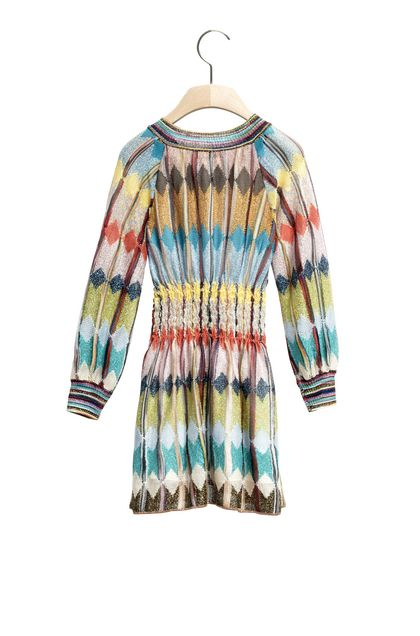 MISSONI KIDS Abito Turchese Donna - Fronte