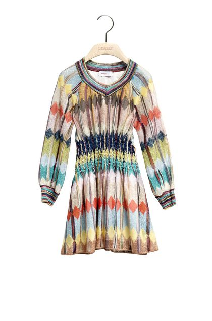 MISSONI KIDS Dress Turquoise Woman - Back