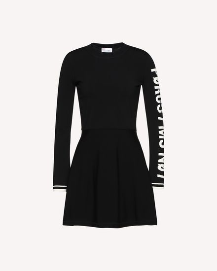 REDValentino Knit Dress Woman QR0KD102455 0NO a