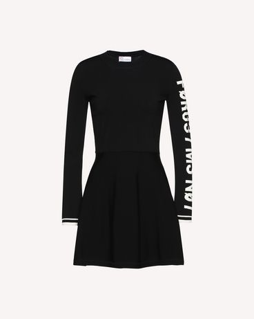 REDValentino QR0KD102455 0NO Knit Dress Woman a