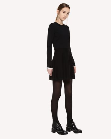 REDValentino QR0KD102455 0NO Knit Dress Woman d
