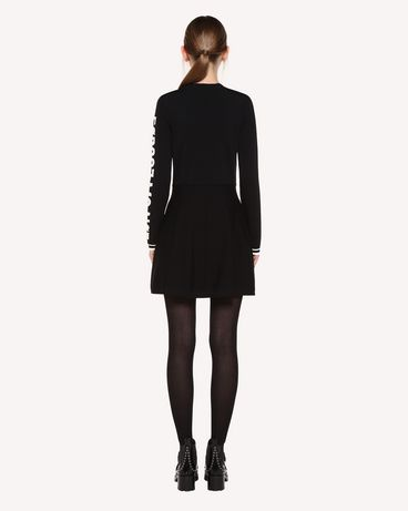 REDValentino QR0KD102455 0NO Knit Dress Woman r