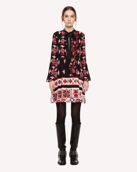 REDValentino Dress Woman QR0VA7P042U 0NO f