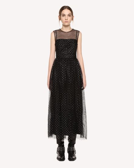 REDValentino Dress Woman QR0VA7Y042H 0NO f