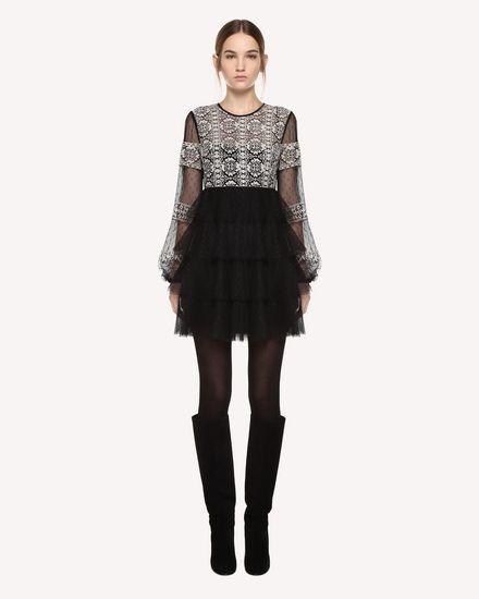 REDValentino Dress Woman QR0VA10F43L 0NA f