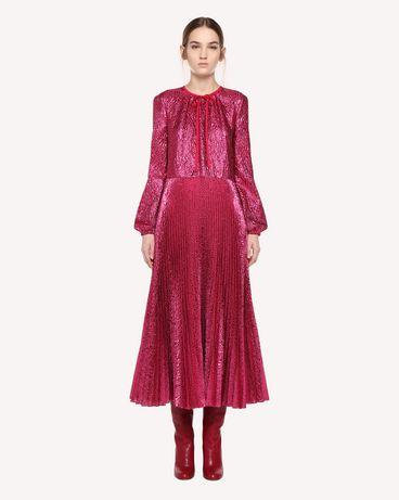REDValentino エンボスフラワー ドレス