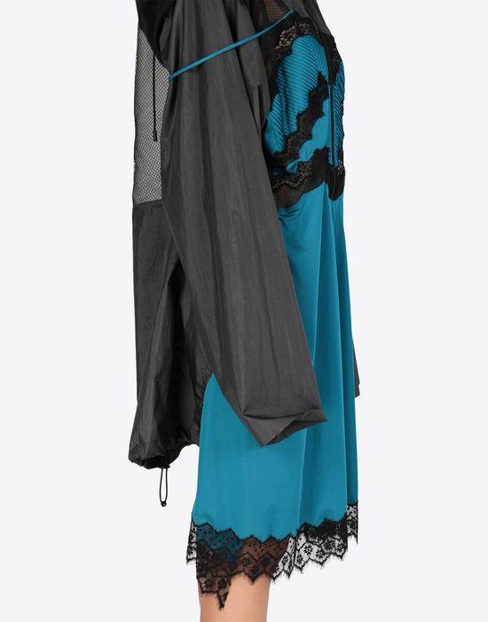 MAISON MARGIELA Two-tone techno taffeta midi dress 3/4 length dress [*** pickupInStoreShipping_info ***] b