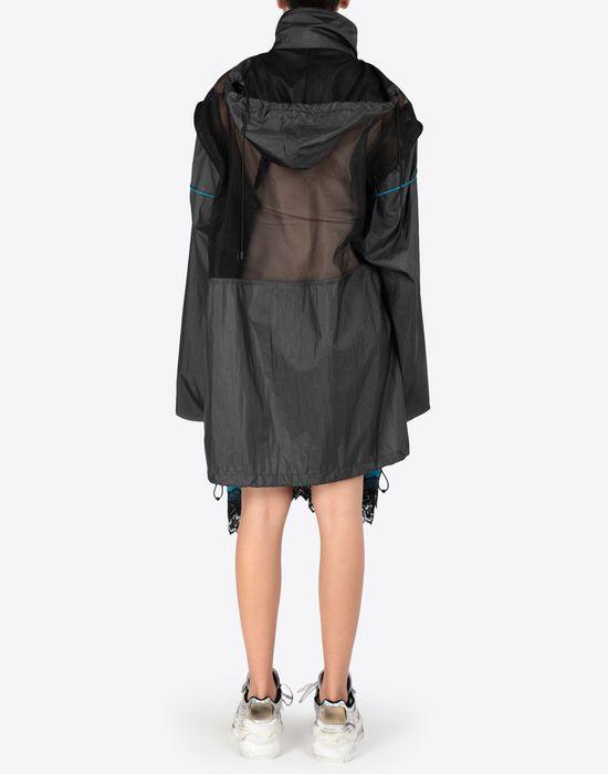 MAISON MARGIELA Two-tone techno taffeta midi dress 3/4 length dress [*** pickupInStoreShipping_info ***] e