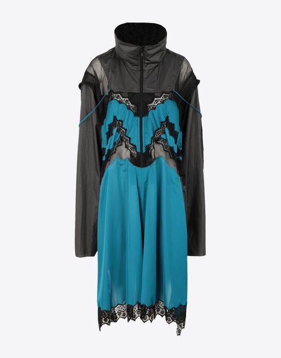 MAISON MARGIELA Two-tone techno taffeta midi dress 3/4 length dress [*** pickupInStoreShipping_info ***] f