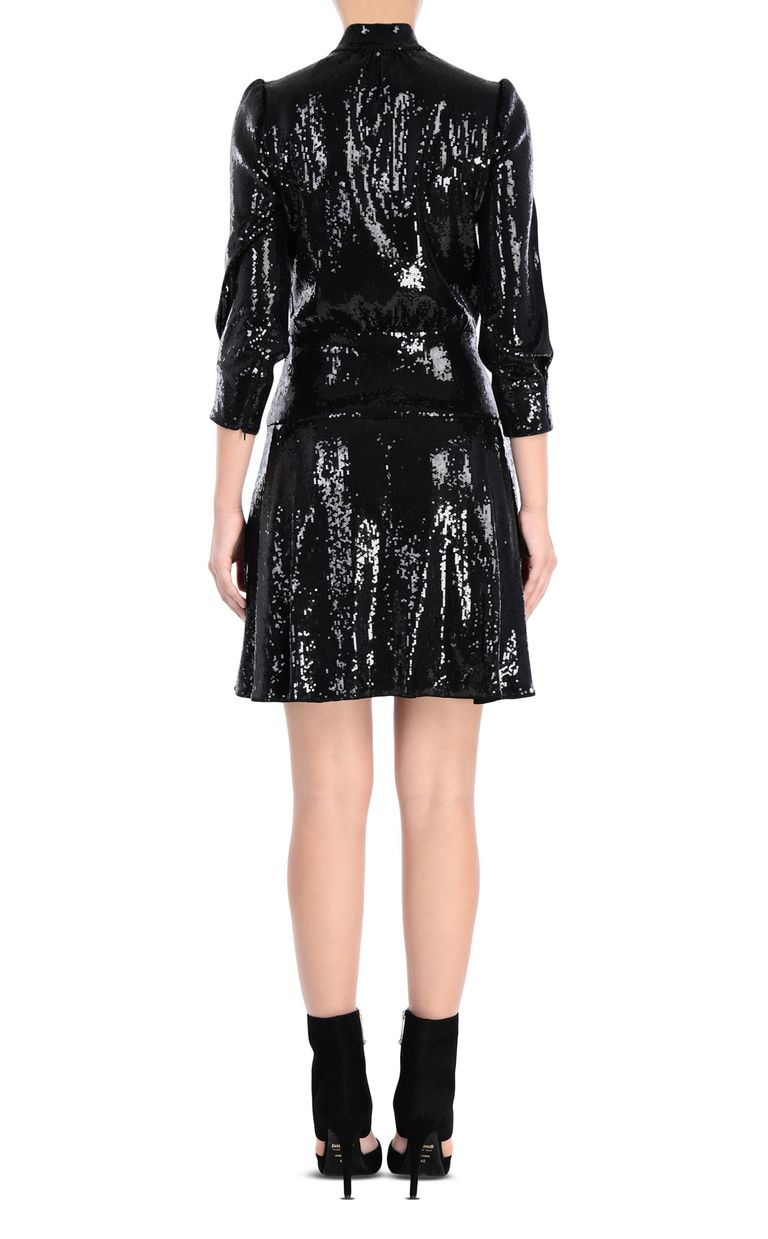 JUST CAVALLI Mini dress with sequins Dress Woman d