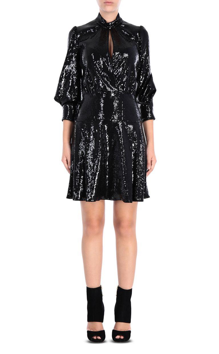 JUST CAVALLI Mini dress with sequins Dress Woman f