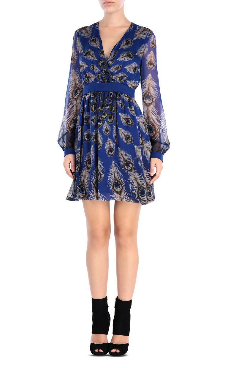 JUST CAVALLI Eye Of The Peacock mini dress Dress [*** pickupInStoreShipping_info ***] f