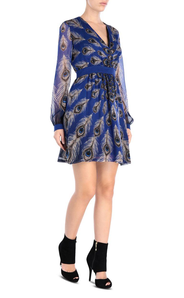 JUST CAVALLI Eye Of The Peacock mini dress Dress [*** pickupInStoreShipping_info ***] r