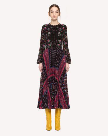 REDValentino QR0VA7R247U 0NO Dress Woman f