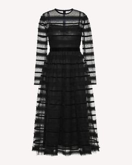 REDValentino Long dress Woman QR0VA10U442 0NO a