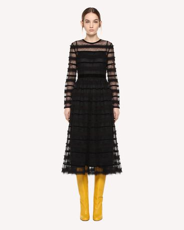 REDValentino Tulle dress with ribbon detail