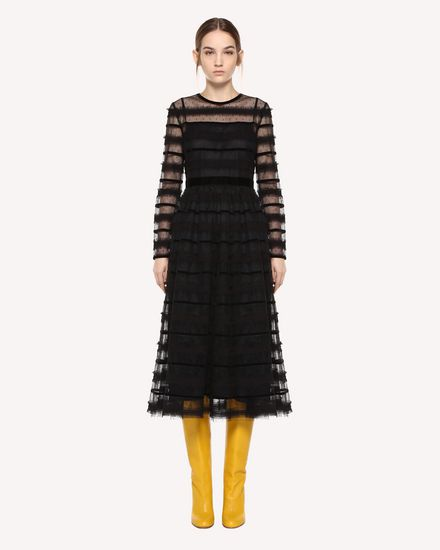 REDValentino Long dress Woman QR0VA10U442 0NO f