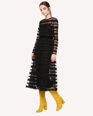 REDValentino QR0VA10U442 0NO Long dress Woman d